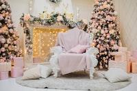 white sofa chair