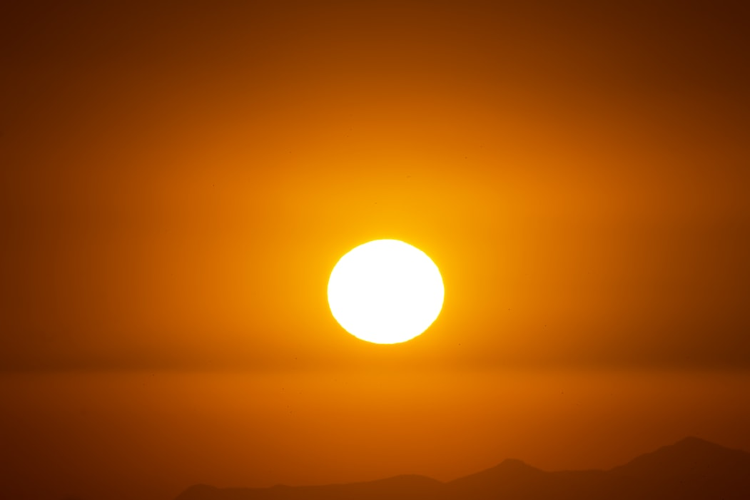 The average temperature on the surface  of the sun is 5,778 Kelvin
