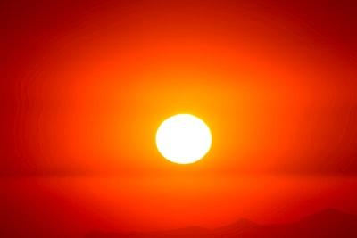 sunset sun zoom background