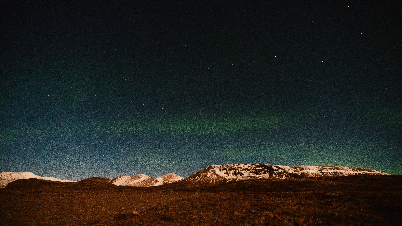 aurora phenomenon in distant