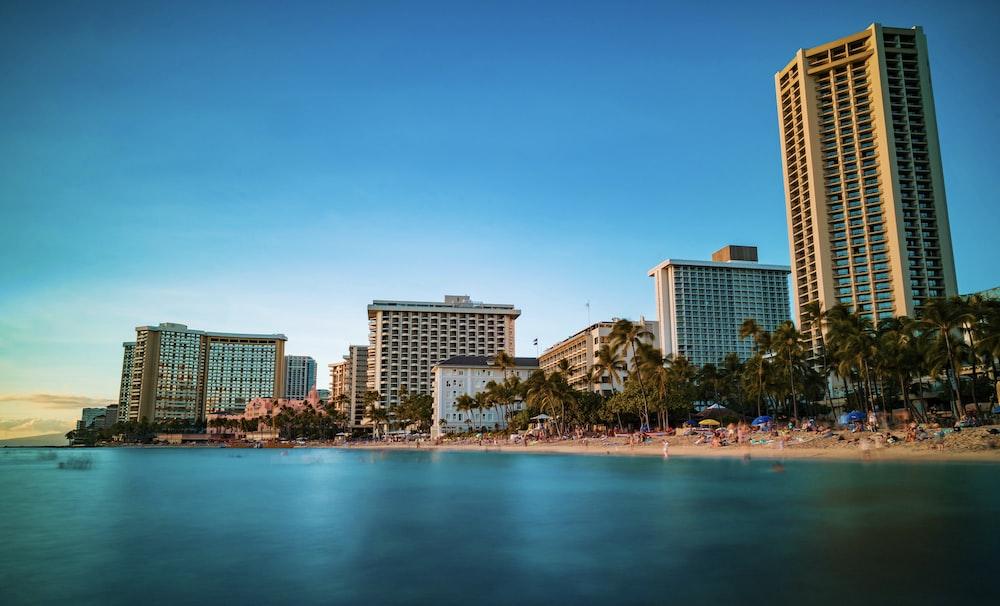 Tree, beach, long exposure and architechure HD photo by Vishnu Tadimeti