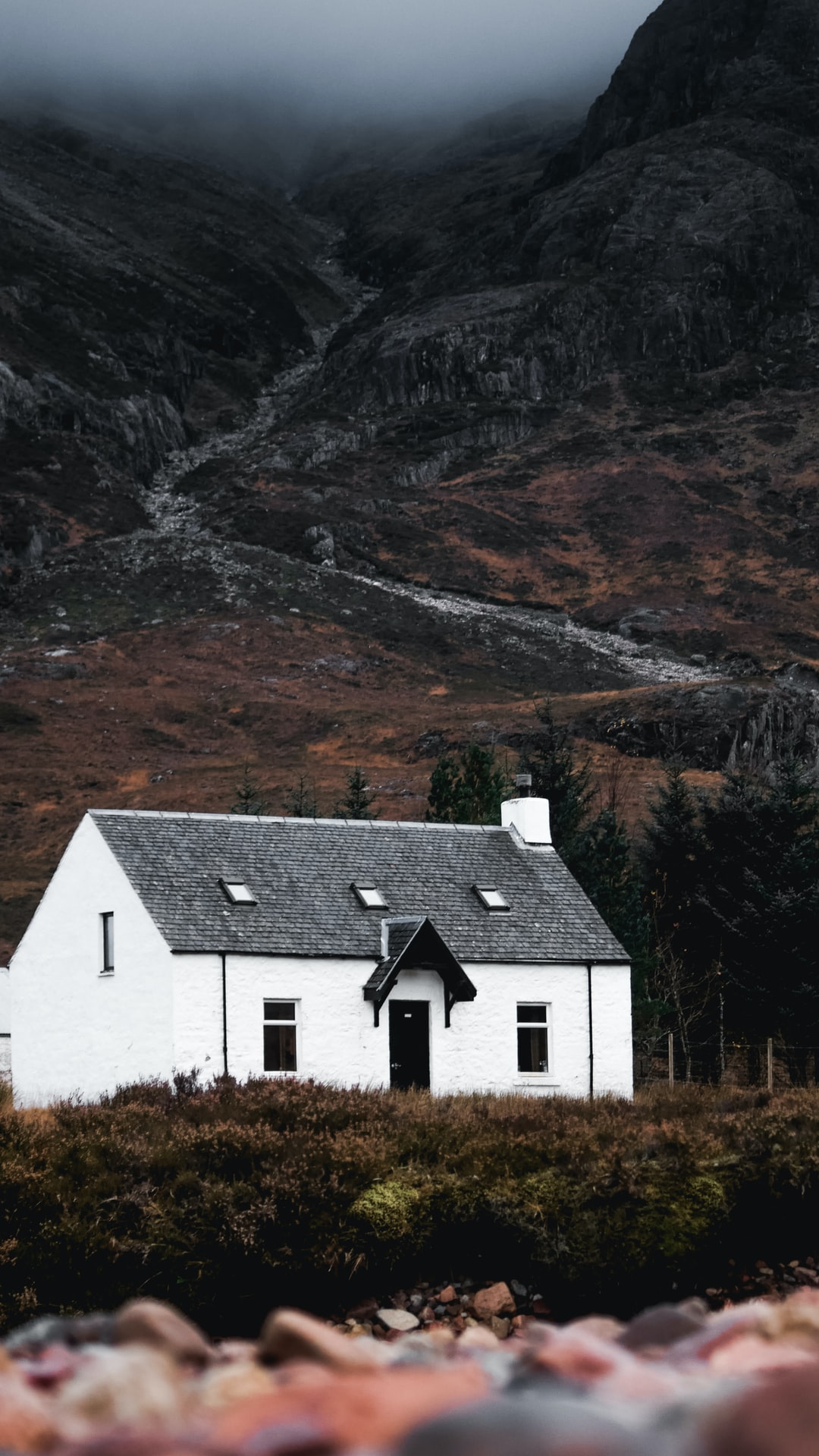 Famous Wee White House At Glen Coe Hd Photo By Jonny