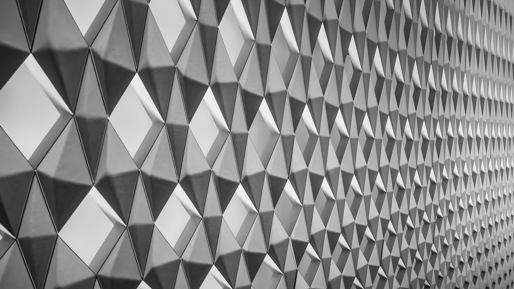 architectural photography of gray concrete wall