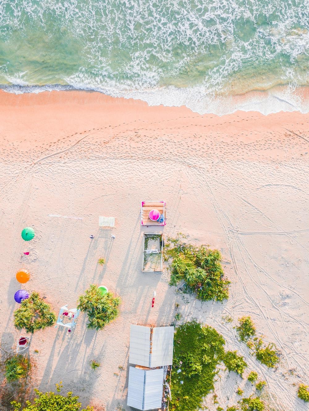 beach during saytime