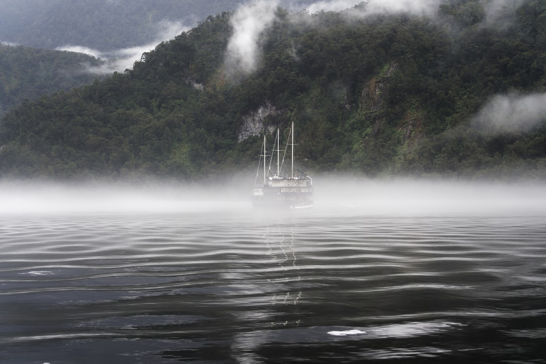 Evening mist rolls into the amazing Doubtful Sound in Fiordland, New Zealand. One of the few truly magical places left..