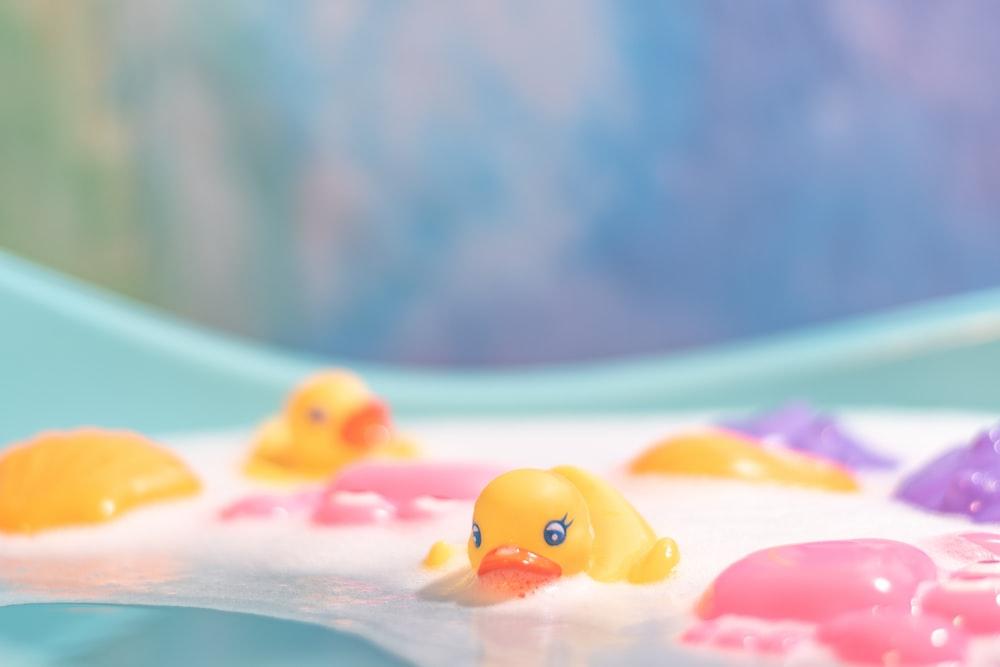 orange and white plastic toy How To Make A Homemade Bubble Bath Recipe For Bubble Bath