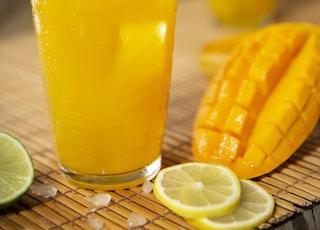mango and lemon juice