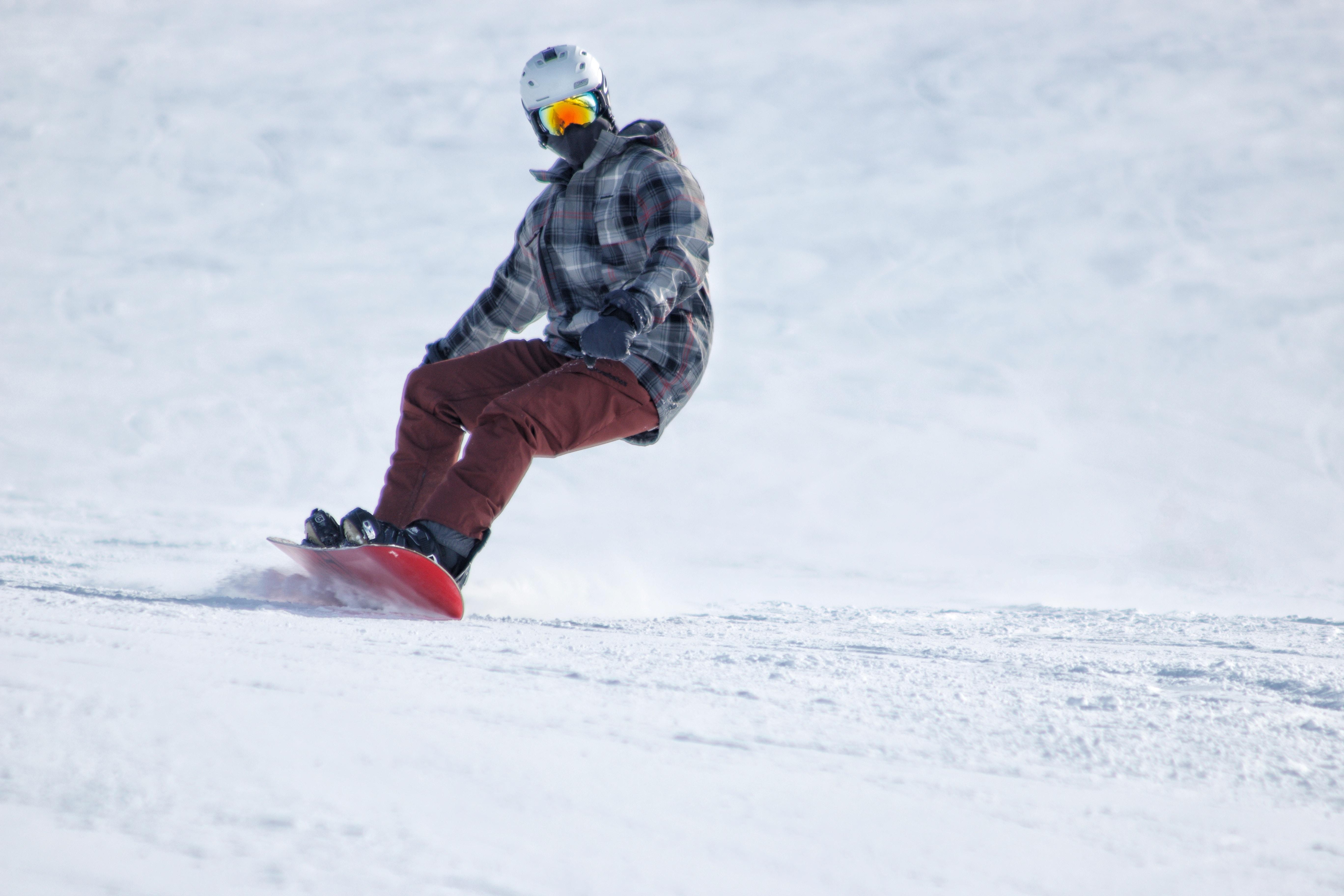 person snowboarding