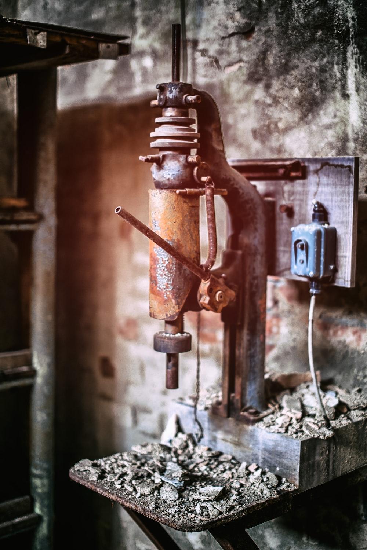 brown drill press