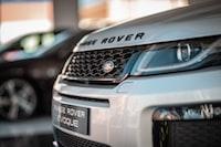 grey Land Rover SUV