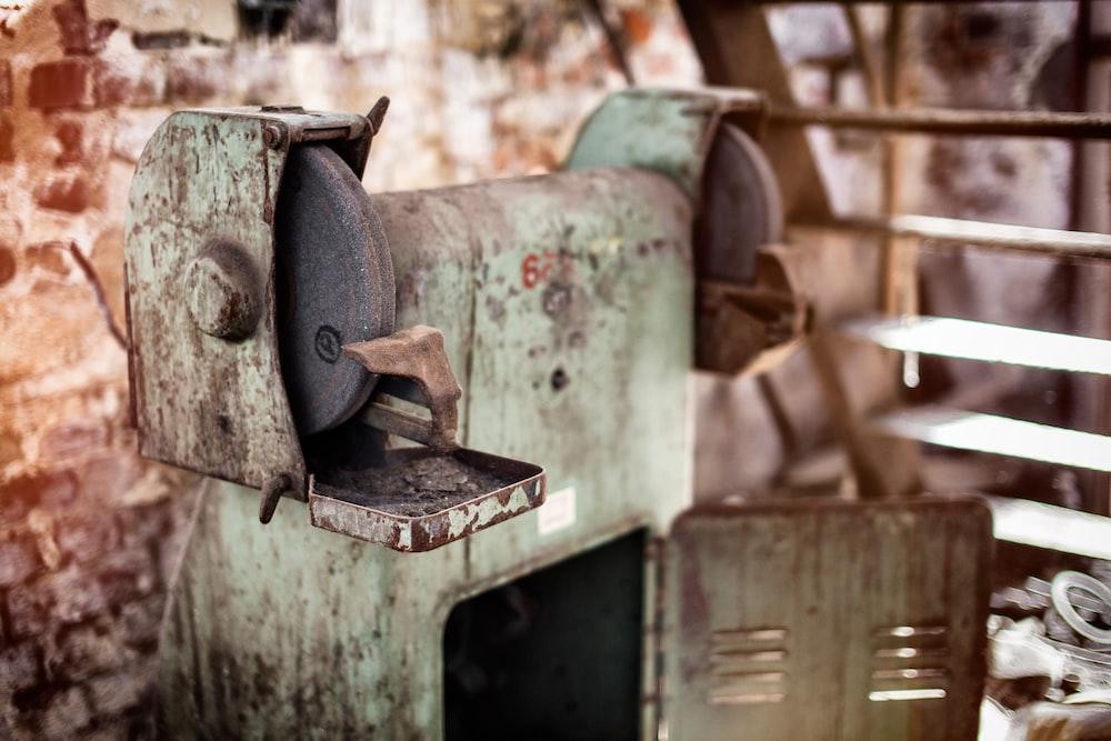 green bench grinder