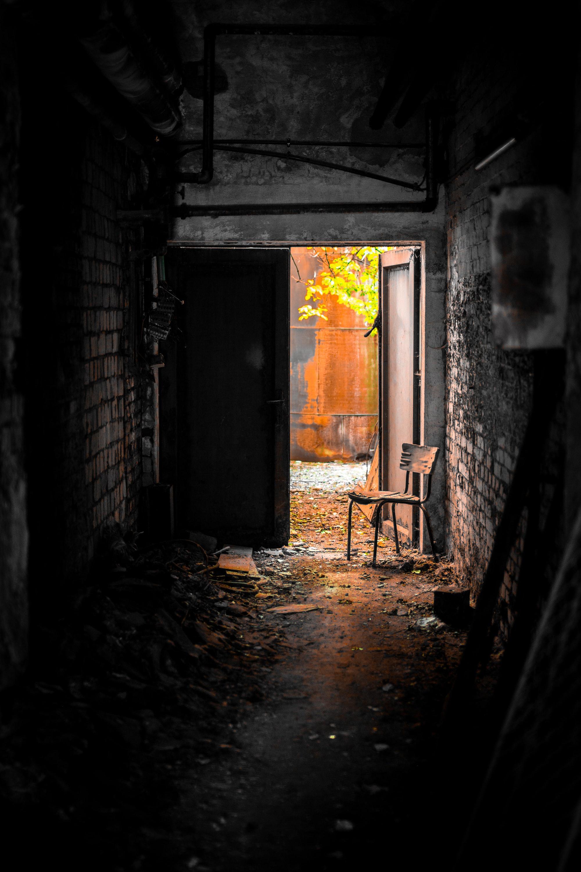 Дверью по голове