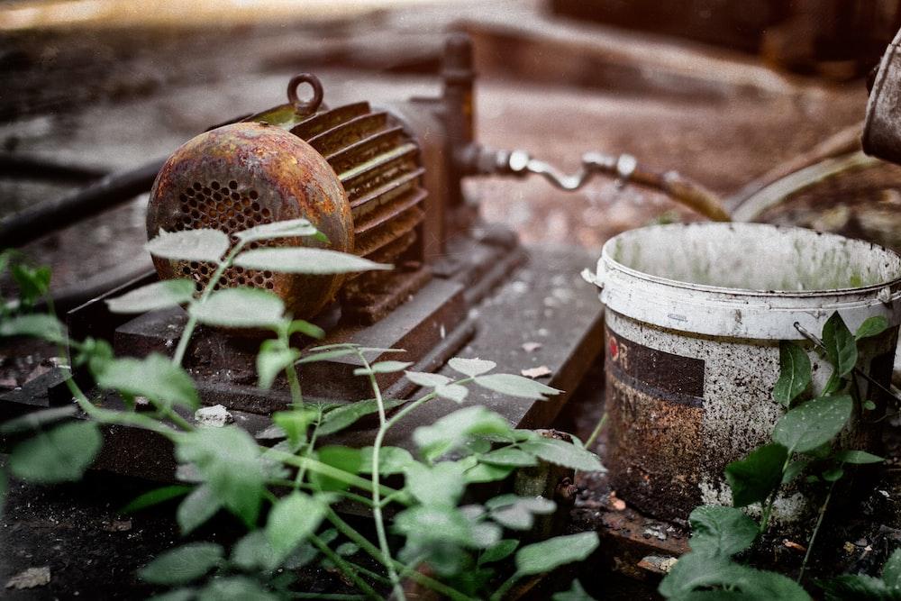 brown water pump