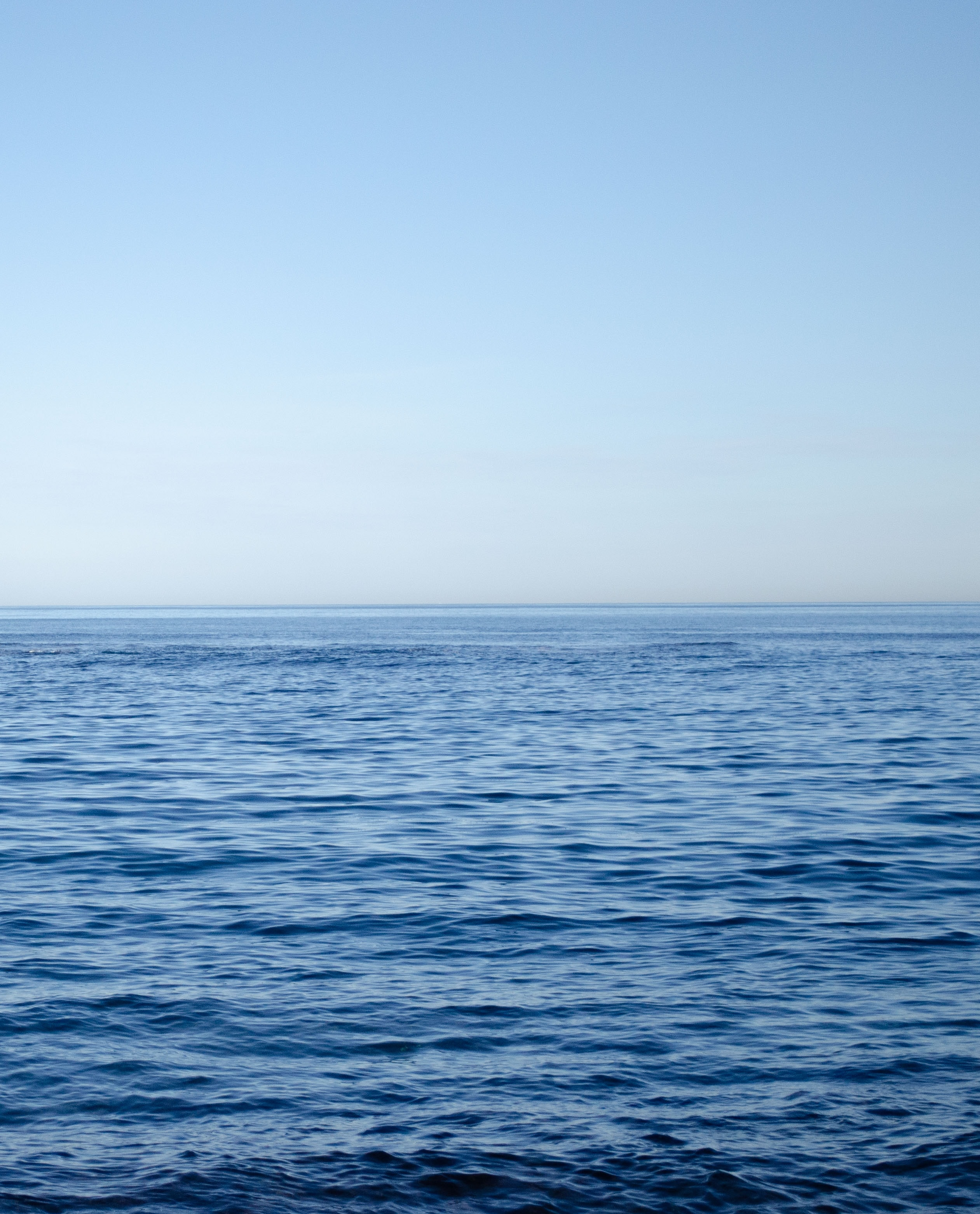 calm sea during daytime