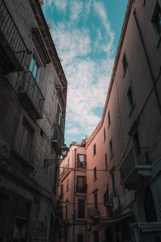low angle photo of concrete apartments