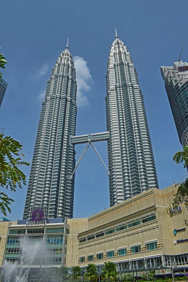 The Petronas Towers Kuala Lumpur, Malaysia