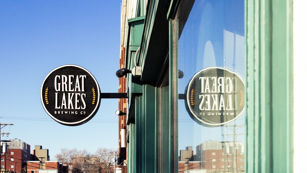 photography of Great Lakes store facade