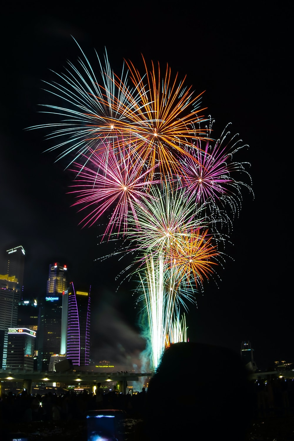 fireworks at night-time