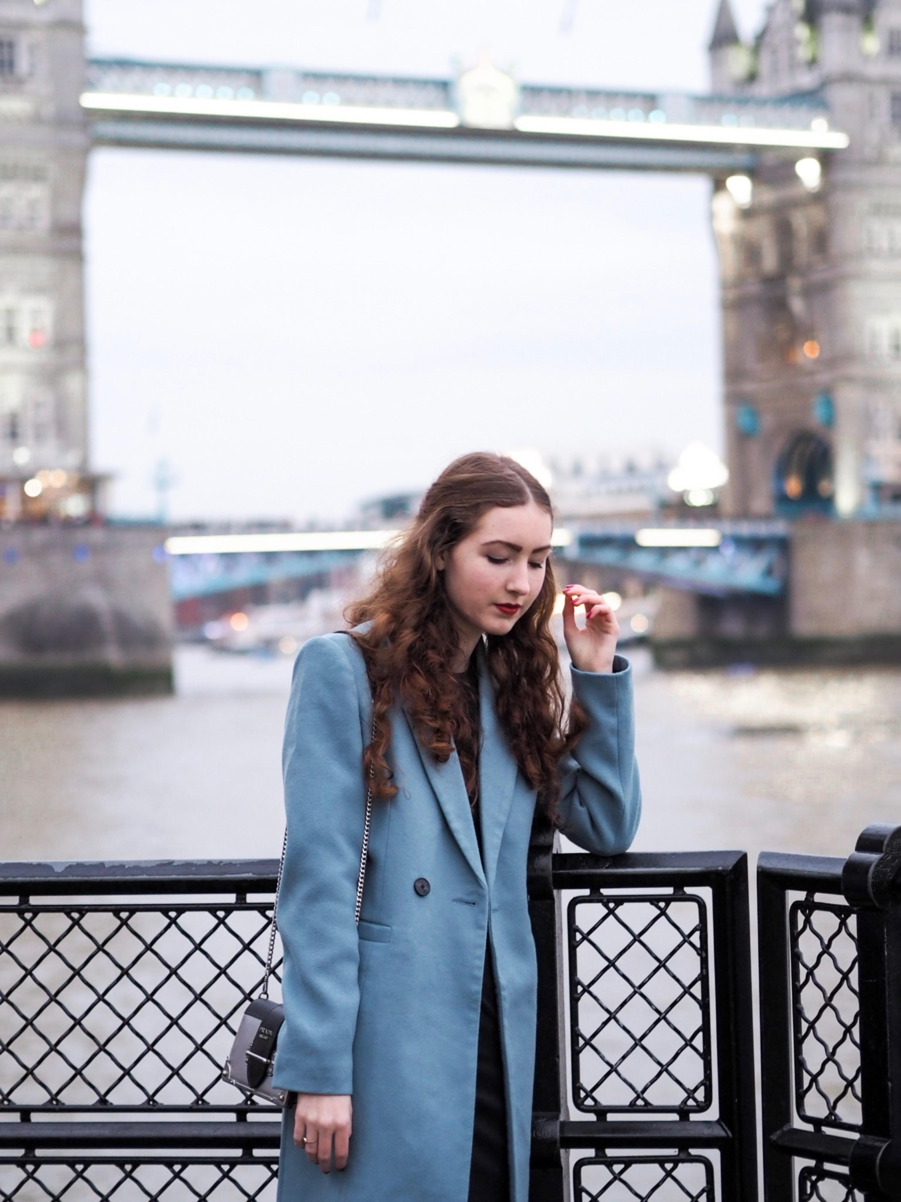 women's blue denim jacket