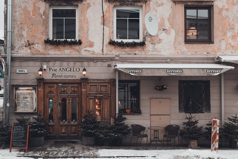 Prie Angelo store front