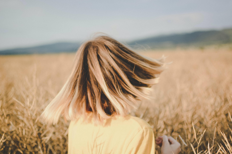 women's brown hair