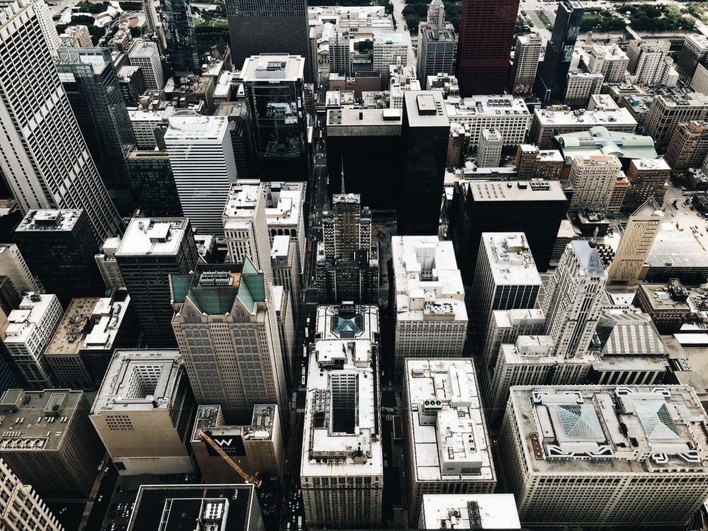 aerial photography of city skyline during daytime