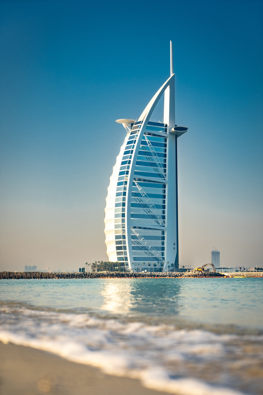 Burj Al Arab Dubai, United Arab Emirates during daytime