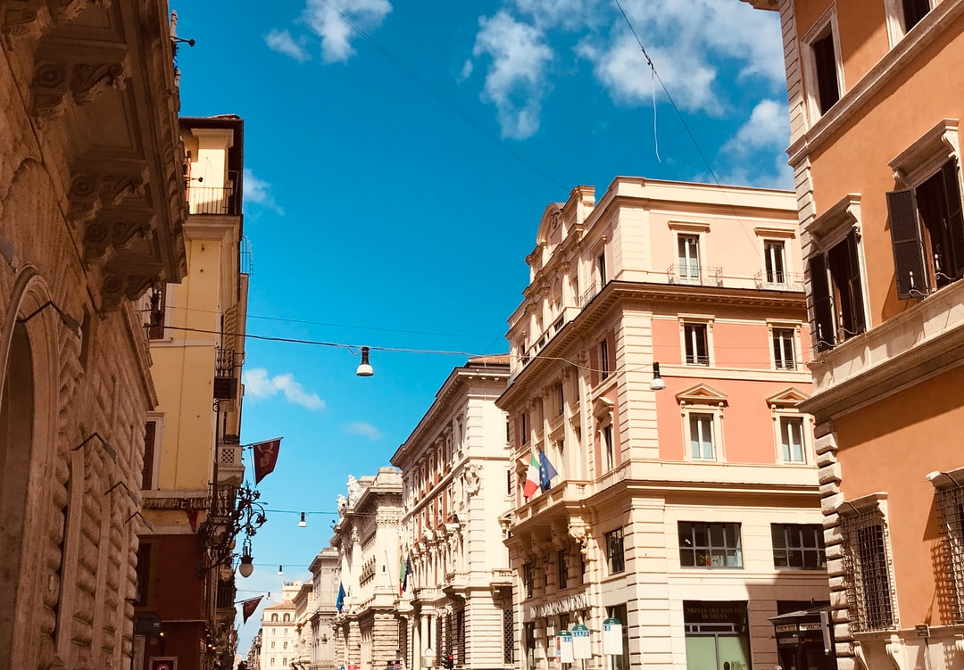 The street of Rome