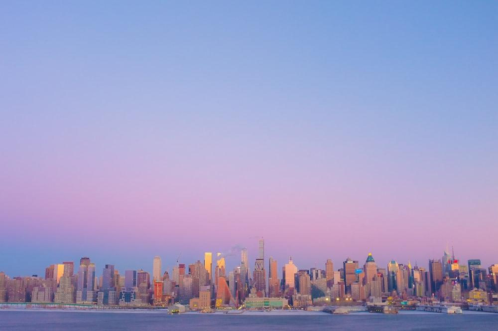 high rise buildings photo during dawn