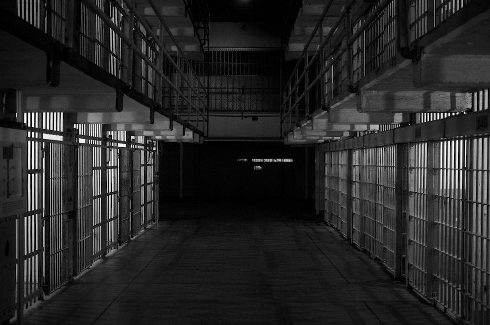 empty prisoner cell