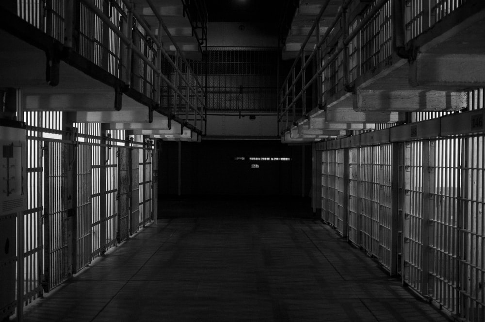 empty prisoner cell