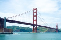 Golden Gate Bridge, San Francisco California during daytime