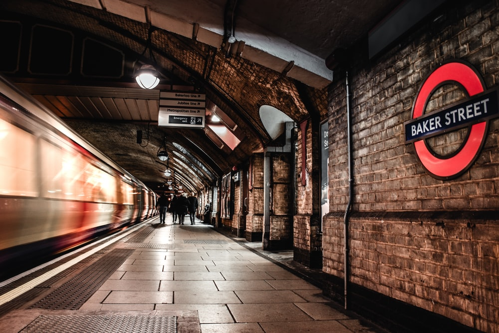 Baker Street train station
