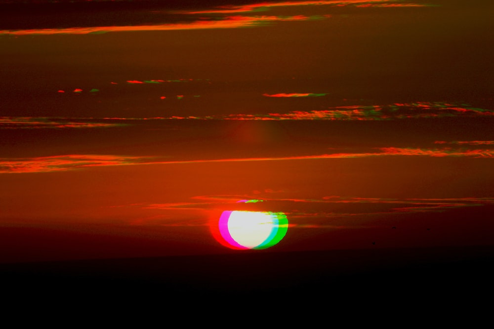 photo of a sunset