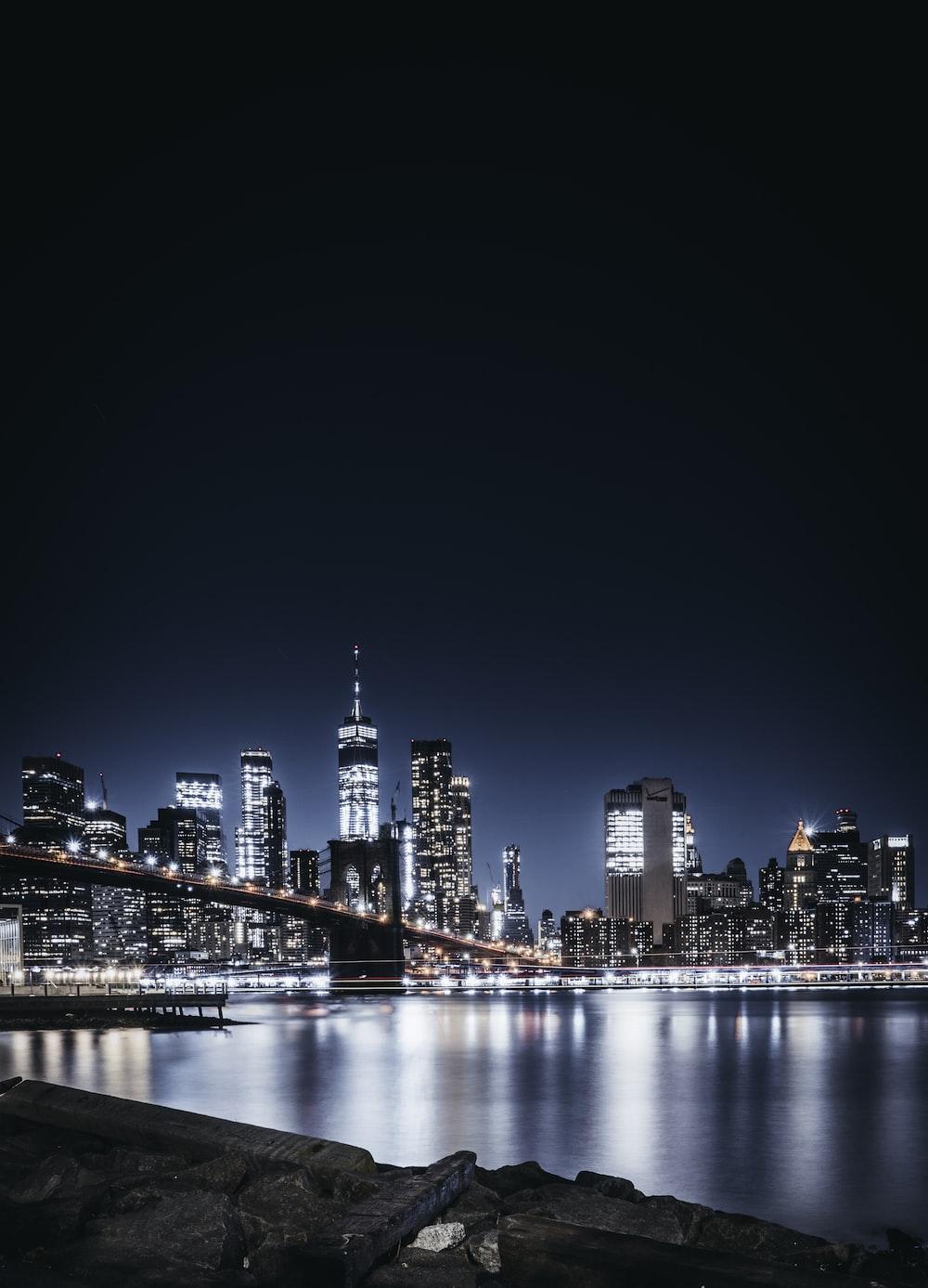 lighted bridge lights