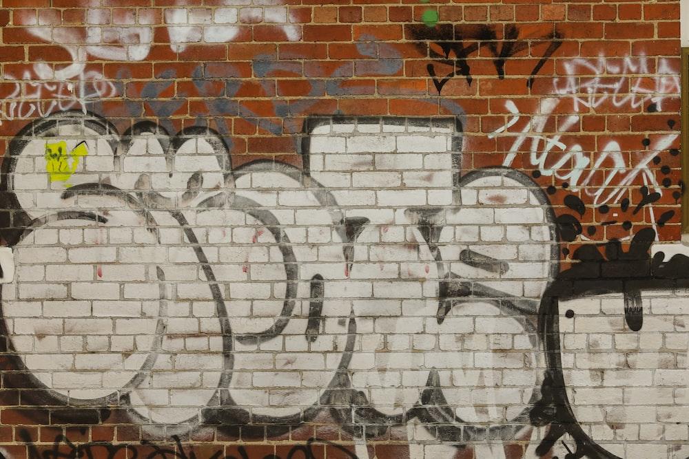 white graffiti