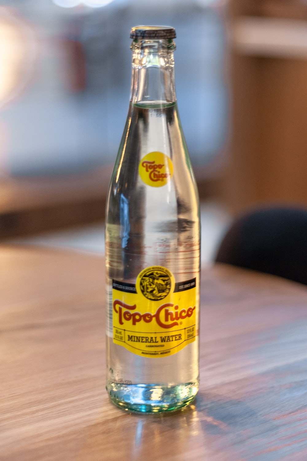 Tope Chico bottle