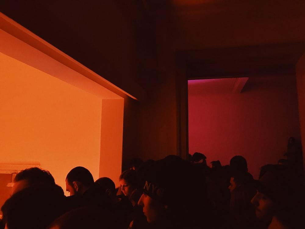 people inside room