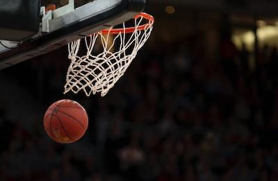 ball under basketball ring basketball zoom background