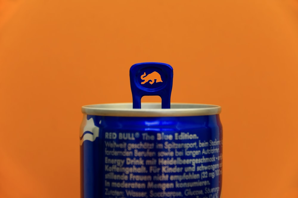 Red Bull tin can