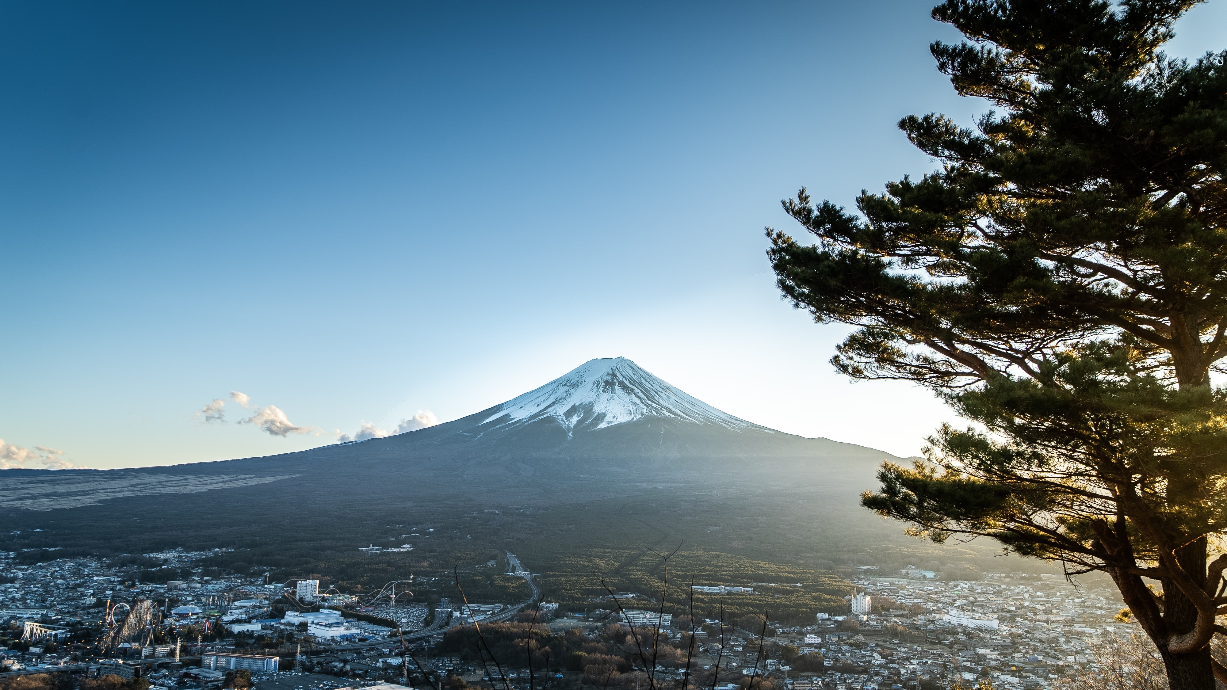 landscape photography of Mount Fuji in Japan during daytime