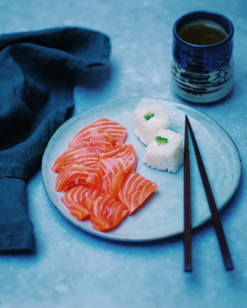 sahsimi and sushi