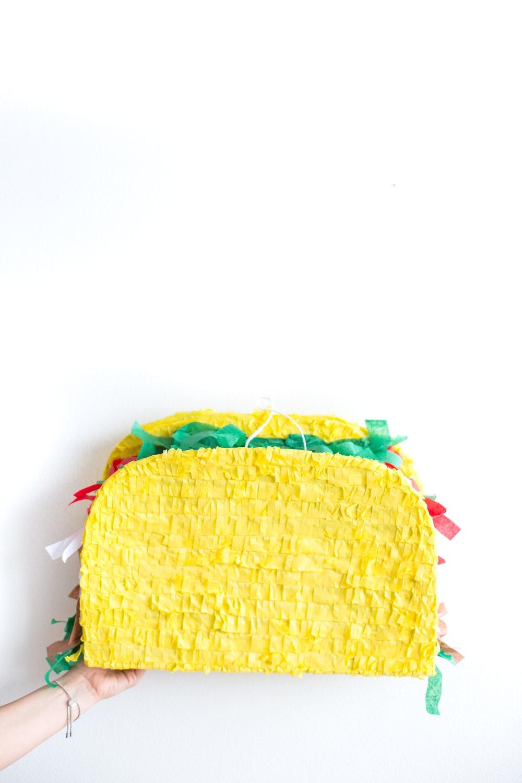 yellow sandwich pinata