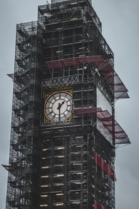tower clock structure