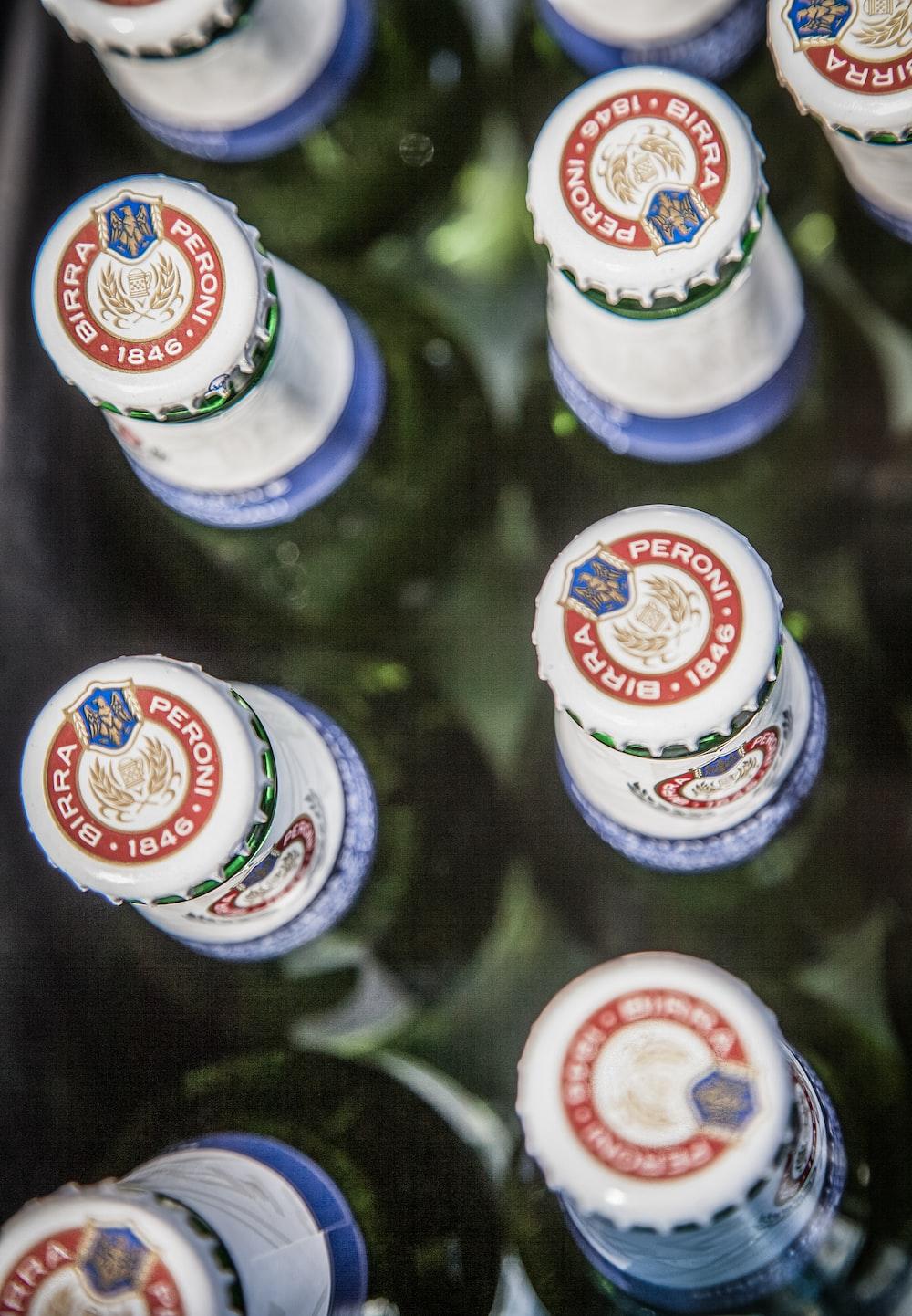 Peroni Birra drink bottle crowns