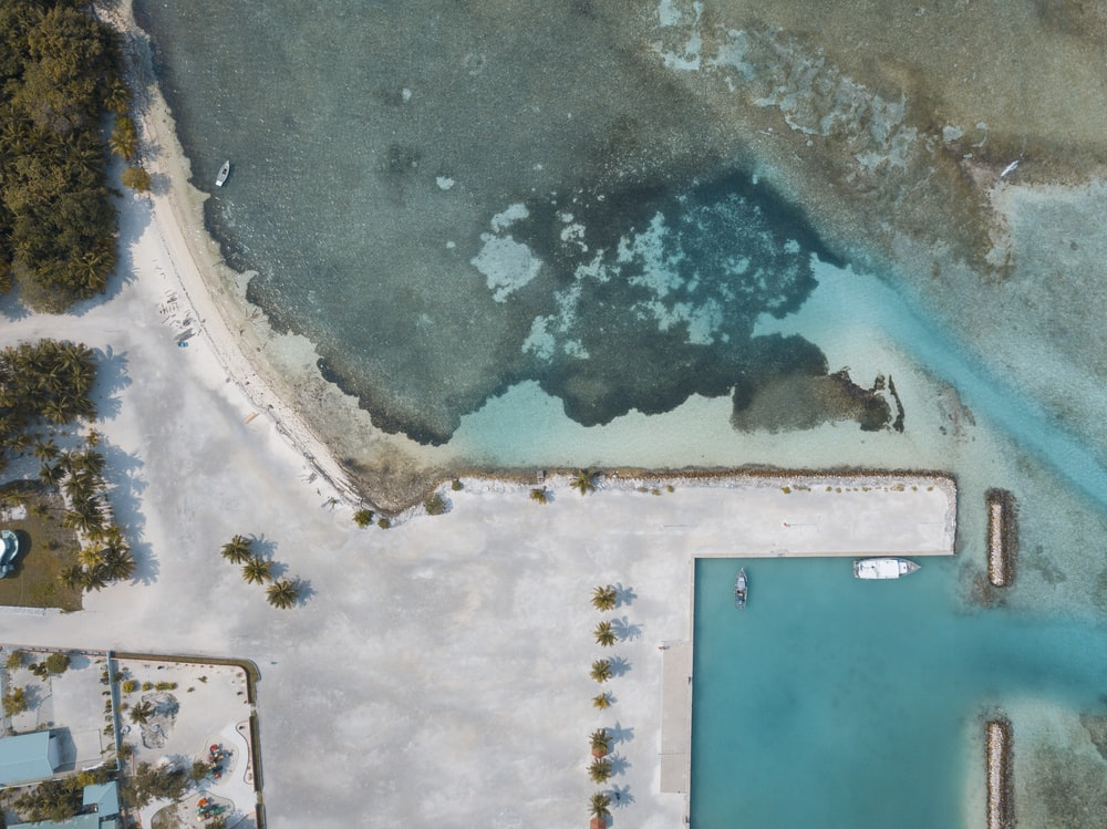 sea water and island photo
