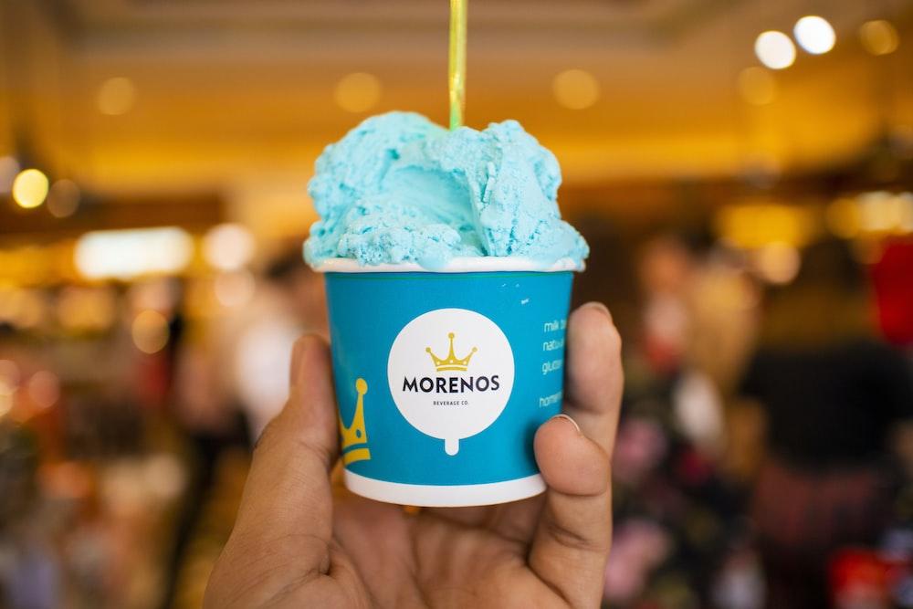 Morenos ice cream cup