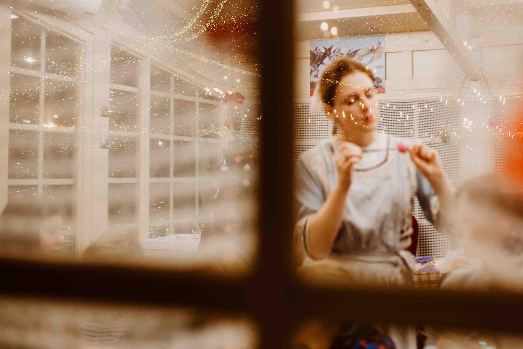 Домашняя мастерская или рабочее место для рукоделия