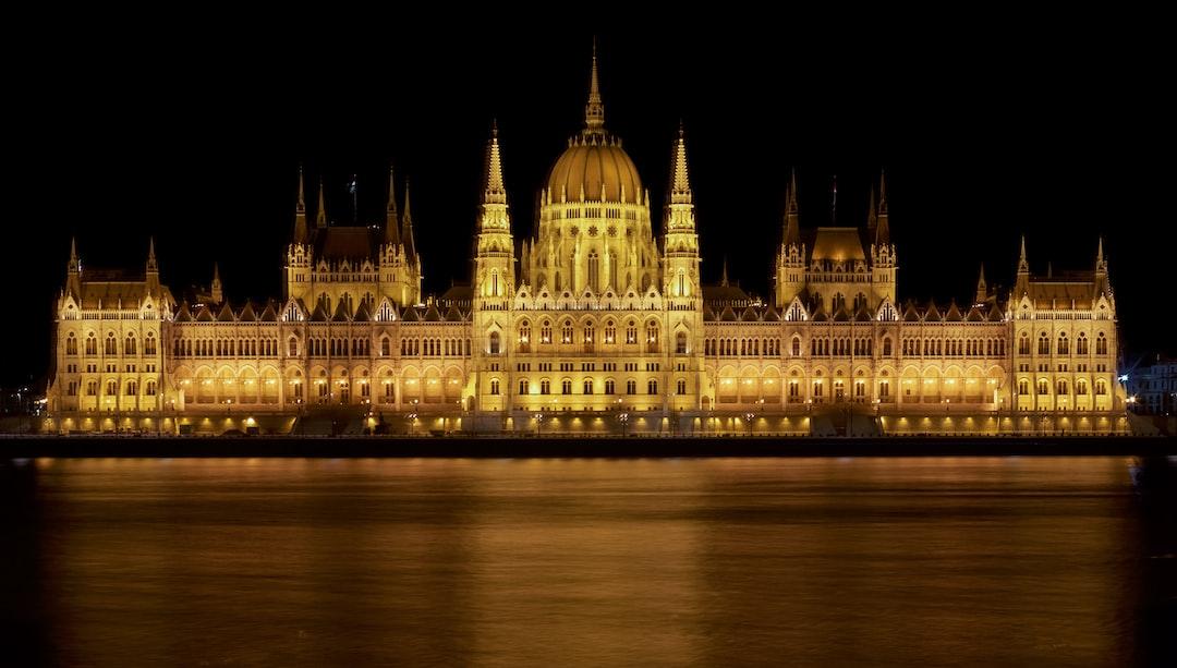 Budapest Parliament Night Shot