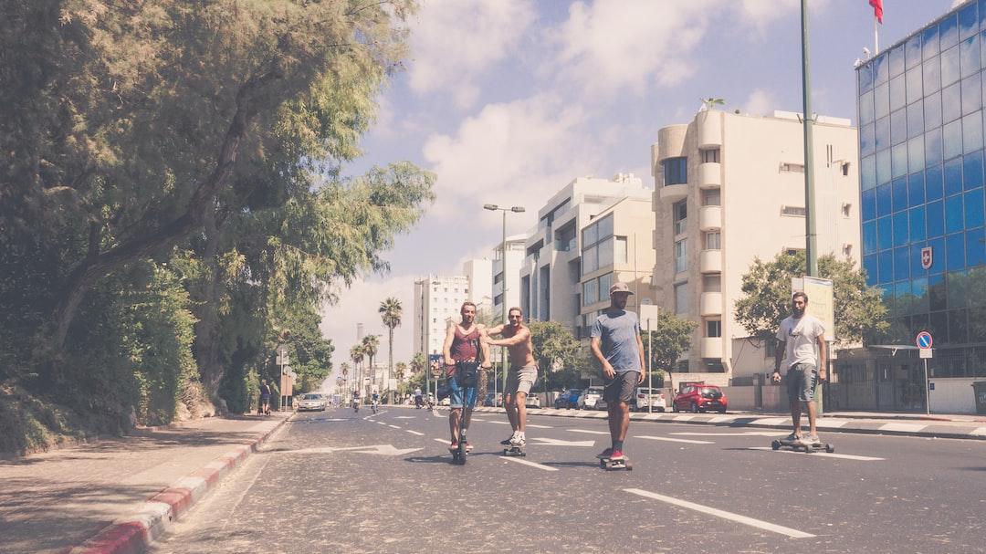 Hayarkon Street @ Yom Kippur